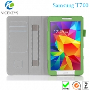 2014 New Design Stand Type Case for Samsung Tab 8.4 T700