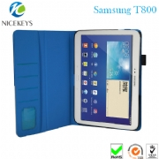 China Supplier Luxury Flip Leather Case For Samsung Tab S T800