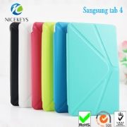 Ultrathin leather cover for Samsung Galaxy Tab4 10 inch  Folio Case