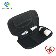Soft sleeve cover for glucose meter kit