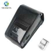 Rotating plastic clip hanger mini thermal printer case