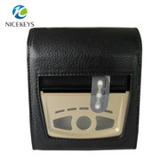 Protable Waist Holder Handheld PU Leather Case Printer Pouch