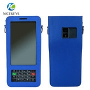 Portable Full protective PU leather PDA barcode case