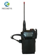 Hotel interphone leather phone case for walkie talkie