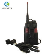 Universal nylon phone carrying case for walkie talkie