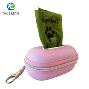 Multi-color small cute hard EVA case for biodegradable bags